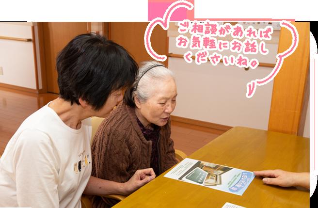 画像:ご入居お申込み・事前面談・入居検討会
